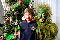 Photos with the Grinch
